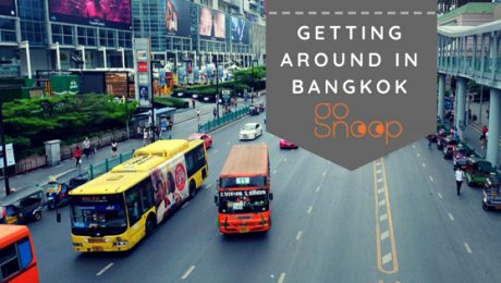 getting around in bangkok